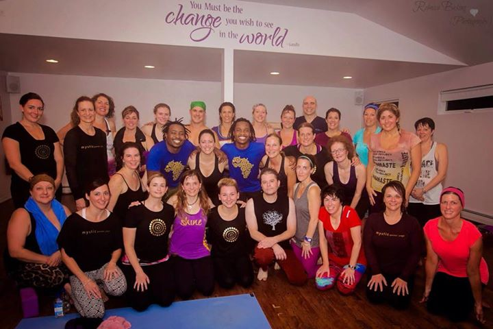 From Skid Row to Flying Crows: My Experience from the Handstand, Hugs, and Highways Tour 2014 at Mystic Power Yoga